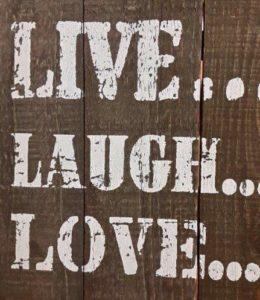 Live, Laugh, Love, Carmen Pipola